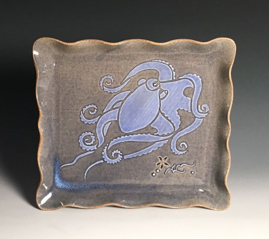 Octopus Square Tray