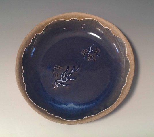 Seahorse bowl