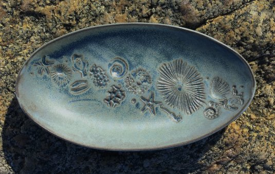 Fossil Oval Dish